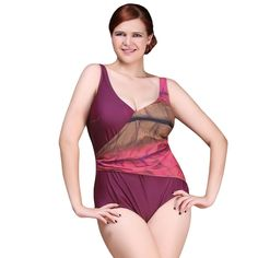 4f761ee5dc0 Sexy One Piece Swimsuit 2016 Vintage Plus Size Swimwear Women Noble Luxury Ruffle  Beach Bodysuit Look Slim Halter Bathing Suit