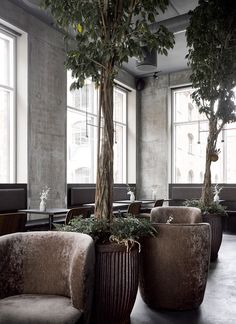 Norm Architects completes warm and tactile interior for Copenhagen restaurant