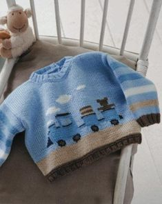 Irina: knitting for kids Baby Knitting Patterns, Baby Cardigan Knitting Pattern, Knitting For Kids, Baby Patterns, Knit Cardigan, Knitted Baby Clothes, Hand Knitted Sweaters, Crochet Baby Hats, Baby Sweaters