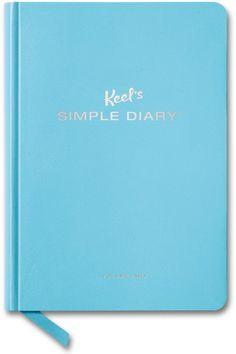 Keel's Simple Diary Volume Two (light blue). TASCHEN, $15.00