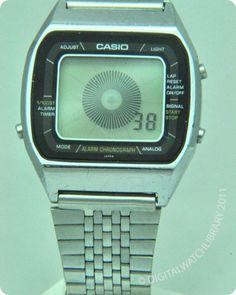 CASIO - A201 - DigitalHands - Vintage Digital Watch - DigitalWatchLibrary.com