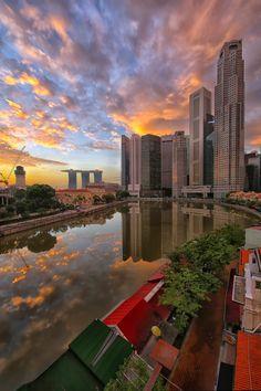 Marina Bay, Singapore, Malaysia