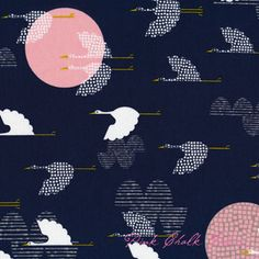 Rashida Coleman-Hale Tsuru 1000 Cranes Indigo @Brittany Johnson this is what I was talking about