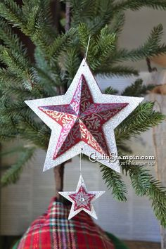 Stampin up bright and beautiful stamp set christmas stars how to on blog