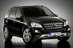 Mercedes ML.. I want a brand new one!  This has been the one car I always feel safe in.