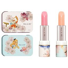 Paul Joe Alice and Wonderland Special Edition The Dieline ❤ liked on Polyvore featuring beauty, lip, lip products, makeup and filler