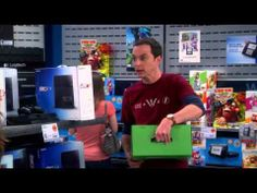 The Big Bang Theory - PS4 vs  XBOX One- Problem Solving