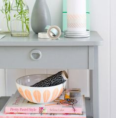 cute styling in candy colors #decor