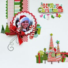 "Merry Christmas...""My Creative Scrapbook"" - Scrapbook.com By: Delaina Burns"