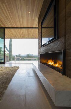 Quartz Mountain Residence by Kendle Design Collaborative #Architects - amazing #fireplace