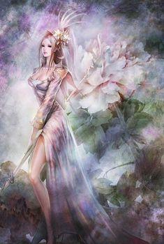 ^Ahua.  So elegant.  She looks like a fairy queen.
