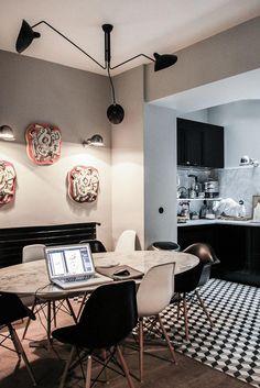 cuisine Laure Vial du Chatenet carrelage macbook pro
