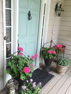 Door Color Ideas: 10 Pretty Blue Doors | Behr, Doors and Front doors