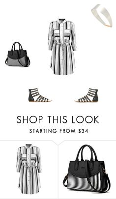 """Black in a dress"" by reaper18 ❤ liked on Polyvore featuring Boohoo and Givenchy"