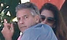 George and Amal Clooney spend the holidays in Mexico