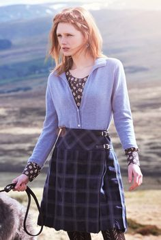 Scottish Tweed Plaid Kilt - Heritage Collection