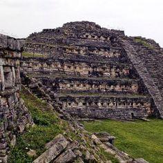 La zona arqueológica de Yohualichan, Puebla en Cuetzalan