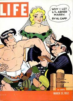 """Life"" magazine ""Li'l Abner"" cover, March 31, 1952"