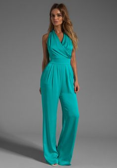 Shop for Catherine Malandrino String Back Jumpsuit in Appletini at REVOLVE. Free day shipping and returns, 30 day price match guarantee. Turquoise Clothes, Jumpsuit Outfit, Catherine Malandrino, Jumpsuits For Women, Clothes For Women, Outfits, Dresses, Jumper, Live