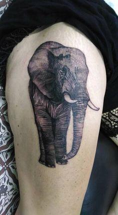elephant tattoo #Blessinkarttattoo#bali