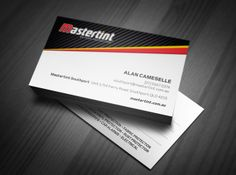 Mastertint Business Card by Csquared Design