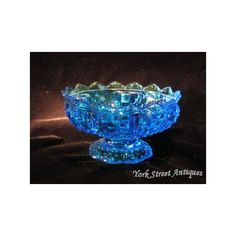 fenton glass candle holder   Compote Centerpiece Candle Holder Moon & Star Pattern Shot Glass ...