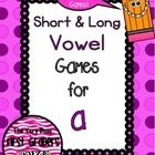 Freebie: Try out 2 of the 5 whole class games included in my Short and Long Vowel Games and Activities pack for FREE!  I also included one independent activ...