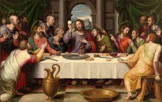 Resultado de imagen de pinturas la ultima cena