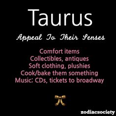 Zodiac Society #taurus