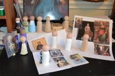 Make your own Saint dolls... AWESOME