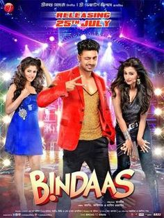 Tollywood Movies and Song Online: Bindaas is a 2014 Indian action romantic Bengali f...