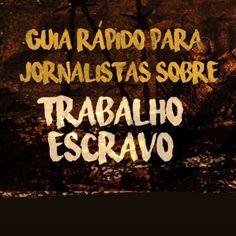 E ainda sobre liberdade... De 1995 a 2015 cerca de 50 mil pessoas foram libertadas do trabalho análogo ao de escravo no Brasil um crime que fere a dignidade e a liberdade humana. Porém o sistema brasileiro de combate à escravidão contemporânea está ameaçado de sofrer retrocessos. Este guia rápido da ONG Repórter Brasil reúne informações fundamentais para a cobertura jornalística dessa violação de direitos humanos.  http://ift.tt/2fgfZa9 #trabalhoescravo #cidadania  #agentenaoquersocomida…