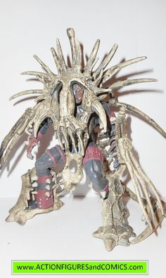 Todd McFarlane Toys for sale to buy SPAWN action figures 1996 series 4, EXO SKELETON SPAWN 100% COMPLETE Condition: Excellent. nice paint, nice joints. nothing broken, damaged, or missing. figure size