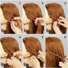 If you know how to do french braid, you will pick this braid quickly. You can refer the French braid tutorial from my previous post (months ago). For now check out the steps for this Three strand Lace Braid:  1) Split hair into 3 sections 2) Cross left section over middle 3) Cross right section over middle 4) Cross left section over then adding hair into right section 5) Cross right section into middle  6) Repeat step 4&5  Done! ❤️