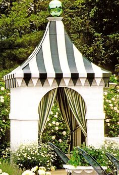 Whimsical cabana...want!