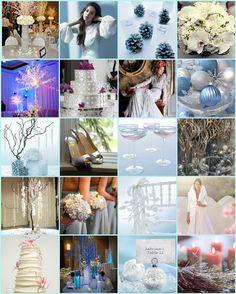 Winter Inspiration Board - Boho Weddings™