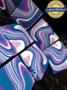 Spinning Swirl Soap Challenge Winners