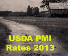 USDA PMI Rates 2013 / USDA charges a much lower PMI on a monthly basis than FHA does! #NC #USDA