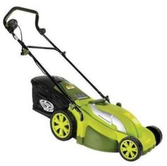Sun Joe Mow Joe Corded Electric Lawn Mower at Lowe's. Lawn cleanup just got easier with the Sun Joe® electric lawn mower/mulcher (Model No more messy gas, oil or toxic carbon Gas Lawn Mower, Bermuda Grass, Dog Yard, Walk Behind, How To Grow Taller, A 17, Outdoor Power Equipment, Lawn Equipment