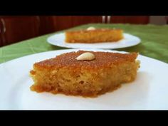 Greek Recipes, Vegan Recipes, Semolina Cake, Greek Sweets, French Toast, Make It Yourself, Breakfast, Lenten, Food