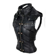 Puma Vest (Jackets + Vests) at AYYA - Custom ninja tabi boots, hand-made leather bags, and custom garments