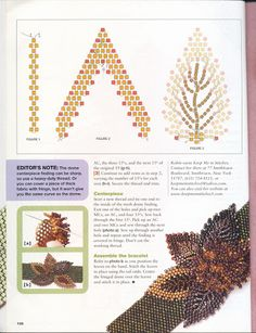 Lacy Leaves Bracelet (3 of 3)