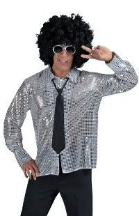 Image result for disco attire for men
