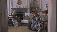 "Barton Cottage in the movie ""Sense and Sensibility"""