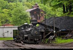 RailPictures.Net Photo: CSRR 11 Cass Scenic Railroad Shay at Cass, West Virginia by Chase Gunnoe
