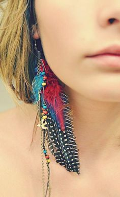 If I could wear earings I would SO wear some of these!! :D