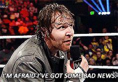 """I'M AFRAID I'VE GOT SOME BAD NEWS!!"" Dean <3 (tumblr)"