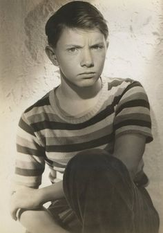 Conrad Binyon is an American former child actor, who appeared on such radio programs as One man's Family, Mayor of the Town, Life of Riley and Buster Brown Gang. He was also featured in many motion pictures as a youngster, including This Woman is Mine (1941), The Keys of the Kingdom (1944), Courage of Lassie (1946), and The Trouble with Women (1947)