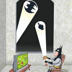 Batman's day off
