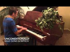 ▶ Unconditionally - Katy Perry - FREE PIANO SHEET MUSIC. Tons of free piano sheet music at www.PianoBragSongs.com.